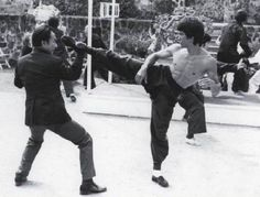 Bruce Lee....In Your Face
