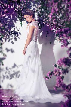 Casamento - Vestido de Noiva: Danielle Benício (Foto: Márcio Rodrigues)