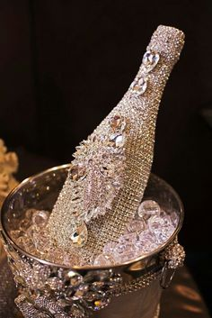 Most expensive champagne bottle