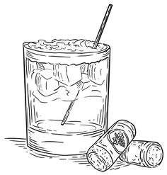 Image result for cocktail drawing png