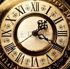 Vieille horloge ancienne Banque d'images - 3985302