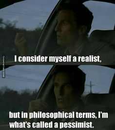 Rust Cohle philosophy