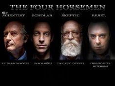 Run! Run! Run away #Christians! The Four Horsemen are here to dismantle your nonsense!