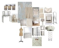 """""""Ma Chambre"""" by stacylovespink on Polyvore featuring interior, interiors, interior design, home, home decor, interior decorating, Cole & Son, Pier 1 Imports, Mitchell Gold + Bob Williams and Anthropologie"""