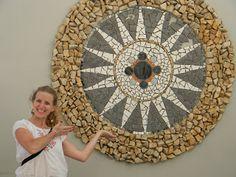 Silvina Brude: Mandalas en piedra y mosaico