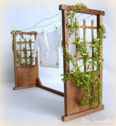 Miniature Garden Washing Area