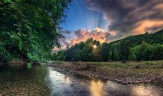 Sunset River.. - Thanks for your visit, your likes and your comments.. - Makis Bitos image