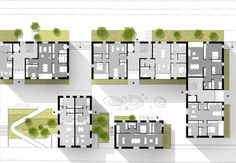Invited competition: 1st prize Housing, senior housing, student housing and apartments, Lübeck, Germany. 2013, 20.000 m2 By Danish architect firm DISSING+WEITLING & WE architecture