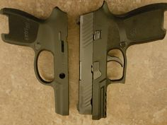 SIG P320 compact slide on a subcompact frame  - The AK Files