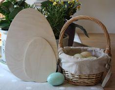 Wooden Egg Cutouts