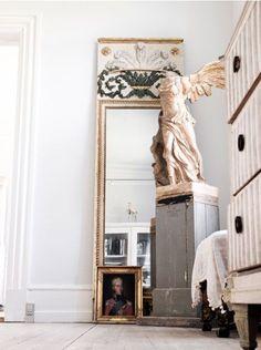 Hands down favorite sculpture, Nike of Samothrace.