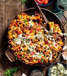 We put a local spin on this traditional Italian rigatoni and added some boerewors and South African flair. Oven Chicken Recipes, Dutch Oven Recipes, Sausage Recipes, Pasta Recipes, Oven Dishes, Food Dishes, South African Recipes, Ethnic Recipes