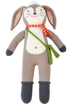 Play: BlaBla Pierre the Bunny // http://ohjoy.blogs.com/my_weblog/2012/01/baby-registry.html