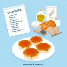 Receta de tartaletas de naranja