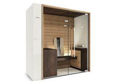 INFRARED SAUNA SWEET SAUNA SMART COMBI | STARPOOL Saunas, Sauna Infravermelho, Home Infrared Sauna, Sauna Design, Wellness Spa, Home Collections, Colored Glass, Glass Door, Architecture