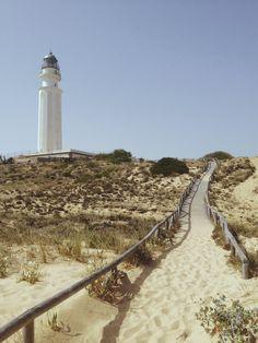 travelingcolors:  Faro de Trafalgar, Los Caños   Spain (by Nacho Coca)