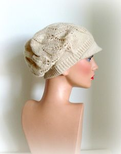 Hand Knitted Women Hat  The Weekender Slouchy Hat by InkaBoutique, $36.00