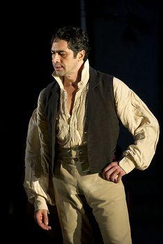 Ildebrando D'Arcangelo, bass-baritone. Figaro in Le nozze di Figaro