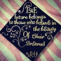 Graduation Cap Ideas Photo 55