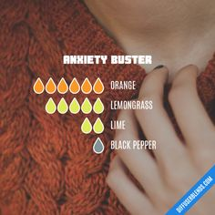 Anxiety Buster - Essential Oil Diffuser Blend