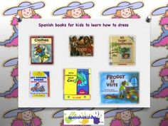 Spanish books for kids: Teaching children to get dress