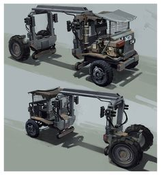 Load Lifter Truck from Killzone 2