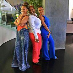Evelyn Lozada With Daughter Shaniece  & Iyanla Vanzant