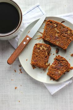 Spiced Molasses Bread with Walnut, Dates + Olive Oil ⎮ happy hearted kitchen
