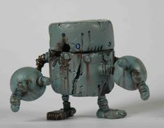 Rusty Robots by ~SpaceCowSmith on deviantART
