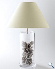 Fillable Jar Lamp - Glass - Table Lamps - Lamps - TLC Lighting Inc ...