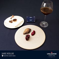 Jake Kellie, will be representing Singapore, competing for South-East Asia with his pigeon dish, which is aged in pepper leaves, hay and strawberry gum for two weeks.