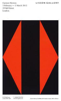 Carmen Herrera: Lisson Gallery, London 2012