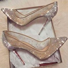 prom shoes Kara See-through sparkle shoes Maya Fyodor High Heels Boots, Pump Shoes, Shoe Boots, Shoes Heels, Dress Shoes, Jeans Shoes, Gucci Shoes, Ankle Boots, Shoes Sneakers