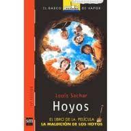 """""""Hoyos"""" de Luis Sachar. Ficha elaborada por Alejandro Paniagua."""