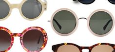 6 Sunglasses Styles for Summer 2013