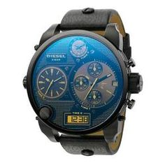 Mens Gear, Bracelet Cuir, Bracelet Watch, Big Daddy, Cool Watches, Men's Watches, Jewelry Watches, Casual Watches, Amazing Watches