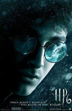 HARRY POTTER: HALF-BLOOD PRINCE - 2009 - Orig 27x40 D/S Advance Movie Poster