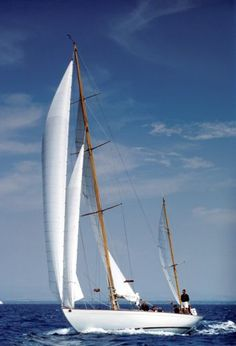 """""""Dorade"""", one of the most celebrated designs by Sparkman         & Stephens"""
