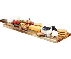 BOURDEAUX CHEESE SET 4-piece stainless steel and wooden cheese knife set with wooden cheese board