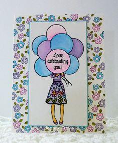 CC695 Guest Designer Sample- Joanne's card