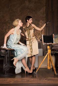 "Vintage Kollektion ""Art Deko "" by Natalia Franzke Art Projects, Tie, Luxury, Concert, Vintage, Collection, Dresses, Fashion, Creative"