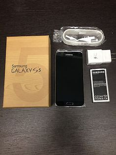 New In Box Samsung Galaxy S5 SM-G900T Black T-Mobile Smartphone #Cell #Phones #Accessories #Smartphones #SM-G900TZKATMB