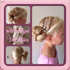 Haarbandvlecht met knot