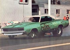Flying Dutchman '68 Charger Funny Car