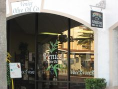 December 17, 2012 - Downtown Venice.  We bought lots of olive oil here
