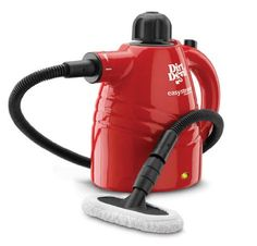 The #Dirt #Devil Hand Steam cleaner lets you safely clean and sanitize without using any chemicals. When used as directed, it is safe and effective on virtually a...