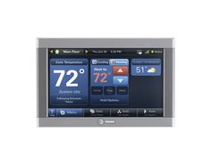 Trane ComfortLink II Thermostat - works with Nexia Home Intelligence! It allows you to control your home's temperature/humidity from anywhere using just your smart phone, tablet or PC. Talk about energy savings!