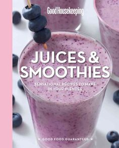 Got a blender? Then have a blast with these 100 juices, smoothies, and other treats. From a healthy Blueberry Blast to an indulgent Mocha Malted Milkshake, they're easy to make and fun to drink. Enjoy