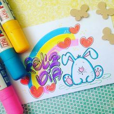 3rd Grade Art Lesson, Notebook Art, Caligraphy, Gumball, Art Lessons, Origami, Banner, Doodles, Happy Birthday