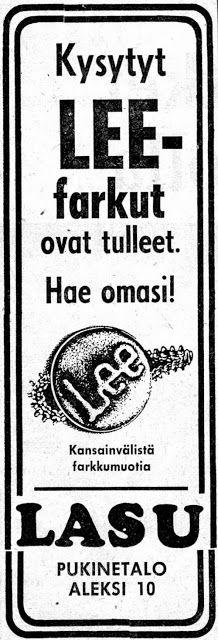 70-luvulta, päivää !:Lee-farkut - 1975